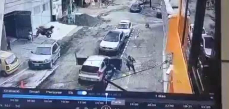 Revelan video de robo frustrado que terminó con un delincuente muerto