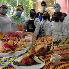 Con talleres de cocina caleña, buscan que tradiciones no se pierdan