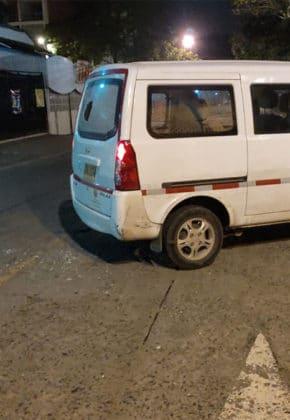 Vehículo de la Secretaría de Movilidad que fue baleado no se debe a un atentado
